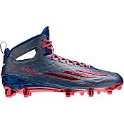 adidas Men's adizero 5-Star 4.0 Texas Pride Mid Football Cleats