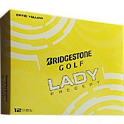 Bridgestone Lady Precept Optic Yellow Golf Balls