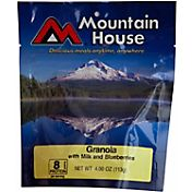 Mountain House Granola with Blueberries and Milk