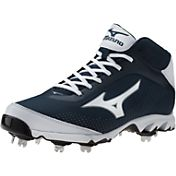 Mizuno Men's 9-Spike Vapor Elite 7 Mid Baseball Cleat