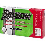 Srixon Soft Feel Pure White Golf Balls – 15-Pack