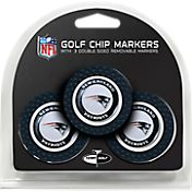 Team Golf New England Patriots Poker Chips Ball Markers - 3-Pack