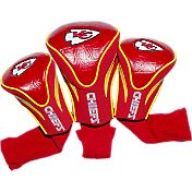 Team Golf Kansas City Chiefs 3-Pack Contour Headcovers