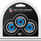 Team Golf Carolina Panthers Poker Chips Ball Markers - 3-Pack