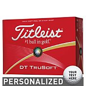 Titleist DT TruSoft Personalized Golf Balls