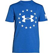 Under Armour Boys' Freedom Logo T-Shirt