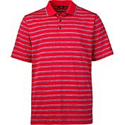 Walter Hagen Men's Velocity Heather Stripe Golf Polo