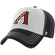 '47 Men's Arizona Diamondbacks McGraw Clean Up Grey/Black Adjustable Hat