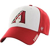'47 Men's Arizona Diamondbacks Beta MVP Red Adjustable Hat