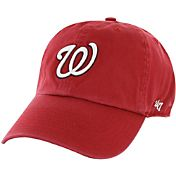 '47 Men's Washington Nationals Franchise Red Fitted Hat