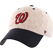 '47 Men's Washington Nationals Pinstripes Clean Up Adjustable Hat