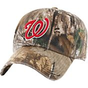 '47 Men's Washington Nationals Realtree Camo Clean Up Adjustable Hat