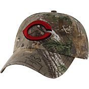 '47 Men's Cincinnati Reds Realtree Camo Clean Up Adjustable Hat