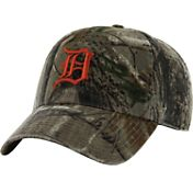'47 Men's Detroit Tigers Realtree Camo Clean Up Adjustable Hat