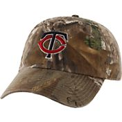 '47 Men's Minnesota Twins Realtree Camo Clean Up Adjustable Hat