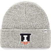 '47 Men's Illinois Fighting Illini Heathered Grey Brain Freeze Cuffed Knit