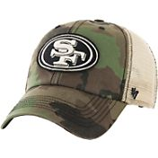 '47 Men's San Francisco 49ers Burnett Adjustable Camouflage Hat