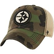 '47 Men's Pittsburgh Steelers Burnett Adjustable Camouflage Hat