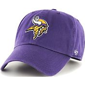 '47 Men's Minnesota Vikings Purple Clean Up Adjustable Hat