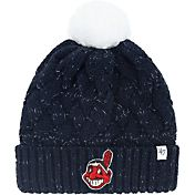 '47 Women's Cleveland Indians Fiona Navy Cuffed Knit