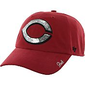 '47 Women's Cincinnati Reds Sparkle Red Adjustable Hat