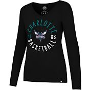 '47 Women's Charlotte Hornets Splitter Long Sleeve Shirt