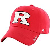 '47 Women's Rutgers Scarlet Knights Scarlet Sparkle Clean-Up Adjustable Hat