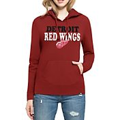 '47 Women's Detroit Red Wings Headline Pullover Red Hoodie
