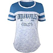 5th & Ocean Women's Indianapolis Colts Space Dye Blue T-Shirt
