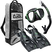 TUSA Sport Adult PowerView Snorkeling Set