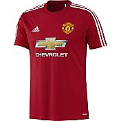adidas Men's Manchester United 16/17 Red Replica Home Top