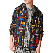 adidas Men's Street Multicolor Print Windbreaker Jacket