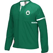 adidas Men's Boston Celtics On-Court Kelly Green Jacket