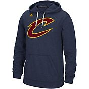 adidas Men's Cleveland Cavaliers climawarm Navy Ultimate Hoodie