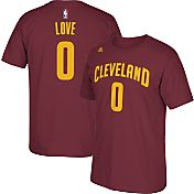 adidas Men's Cleveland Cavaliers Kevin Love #0 Burgundy T-Shirt