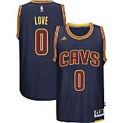 adidas Men's Cleveland Cavaliers Kevin Love #0 Alternate Navy Swingman Jersey