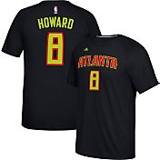 adidas Men's Atlanta Hawks Dwight Howard #8 climalite Black T-Shirt