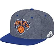adidas Men's New York Knicks Grey Adjustable Snapback Hat