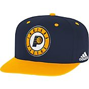 adidas Men's Indiana Pacers On-Court Adjustable Snapback Hat