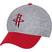 adidas Men's Houston Rockets Structured Grey Flex Hat