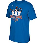 "adidas Men's Oklahoma City Thunder Russell Westbrook ""Triple Double Time"" Blue T-Shirt"