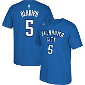 adidas Men's Oklahoma City Thunder Victor Oladipo #5 Blue T-Shirt