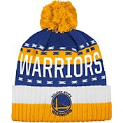 adidas Men's Golden State Warriors Cuffed Pom Knit Hat