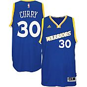 adidas Men's Golden State Warriors Steph Curry #30 Alternate Royal Swingman Jersey