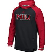 adidas Men's Northern Illinois Huskies Sideline Player Black Hoodie