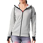 adidas Women's Daybreaker Full-Zip Running Hoodie