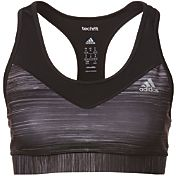 adidas Women's techfit Speed Heathered Sports Bra