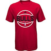 adidas Youth Chicago Bulls climalite Red T-Shirt