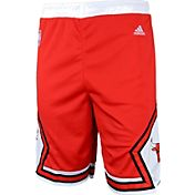adidas Youth Chicago Bulls Road Red Replica Shorts