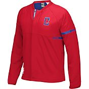 adidas Youth Los Angeles Clippers On-Court Red Jacket